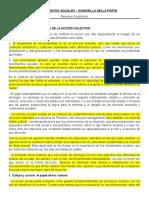 Resumen de LOS MOVIMIENTOS SOCIALES - Donatella Della Porta