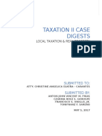 Taxation Tax