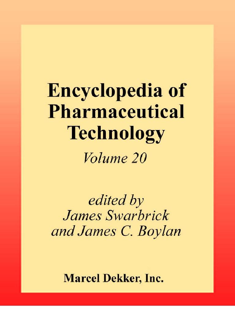 Encyclopedia of pharmaceutical technology volume 20 sterilization encyclopedia of pharmaceutical technology volume 20 sterilization microbiology extrusion fandeluxe Choice Image