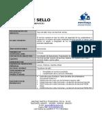 RF003 Ficha Tecnica Tarja de Sello
