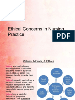 10. Ethical Concerns in Nursing Practice