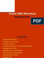 Oracle DBA Workshop I - Introduction.ppt