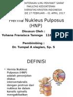 Hernia Nukleus Pulposus (HNP) PPT