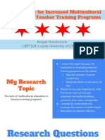 pdf presentation- hasebroock- the argument for increased multicultural education in teacher training programs