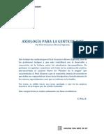 Trabajo de Axiologia Para Gente de Hoy Prof.alvarez