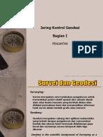 PPT JARING KERANGKA KONTROL GEODESI