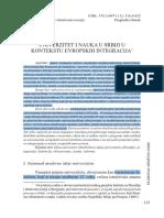UNIVERZITET I NAUKA U SRBIJI U.pdf