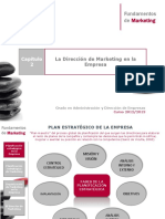 FMk-T2 - Direccion de Marketing en La Empresa