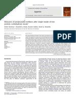 Measures of Postprandial Wellness After Single Intake of Two Boelsma2010