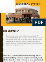 Electoral System of India
