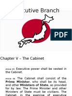 Japan Executive Branch