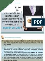 Inversion en Litio