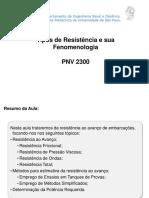 _Resistência Ao Avanço Fenomenologia