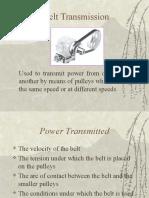 Belt Transmisi
