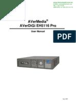 DVR 16 CANALES AVERDIGI EH5116Pro