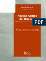 Berardi Leda - Analisis Critico Del Discurso - Perspectivas Latinoamericanas
