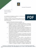 Carta Respuesta Presidenta de Ancap
