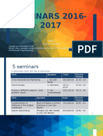 2 seminars 1