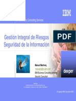 Gestion Integral Riesgos TI IBM