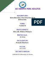Unidad II Ciencias de La Educacion Elva Nuñez