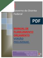 Manual Orçamento - DF