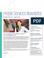 People Services Newsletter Kpmg Aprilie 2016