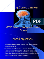 Assessing Consciousness