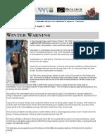 2008 WinterWarning Volume01 Issue02