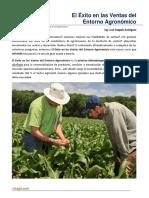 04. El Exito de Las Ventas en El Entorno Agronomico