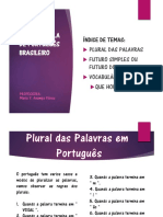 CLASE PORTUGUES
