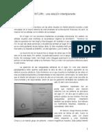 Escritura y Pintura un texto de Víctor Monjarás-Ruiz