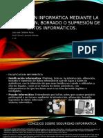 Falsificación Informática Mediante La Introducción, Borrado o