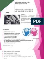 Violência de Gênero No Sertão Baiano Com Obs