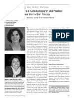 Emerging as Leaders in Autism Research and Practice. Data-driven Intervention Process