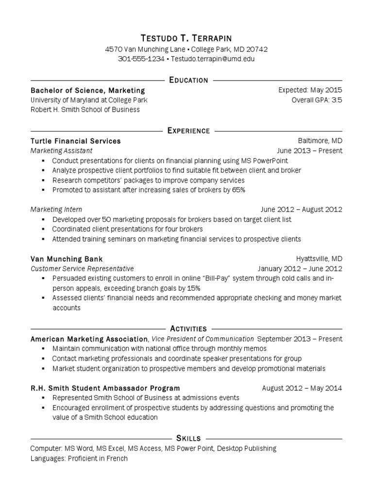 resume template   marketing   business, Umd Presentation Template, Presentation templates