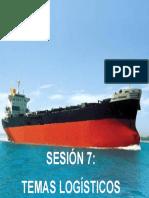 Sesion 7 - Temas Logisticos