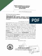 Casación N° 326-2016, Lambayeque - Notificación judicial e imputación necesaria.pdf
