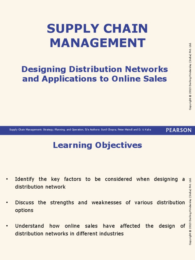 Lecture-15-16-17 | Supply Chain | Supply Chain Management