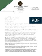Letter to Attorney Gen. Josh Shapiro