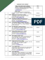 Tamilnadu Study Centres List