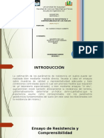 Geotecnia II 2,4 Ensayos de Compresinilidad- Grupo 10.Pptx