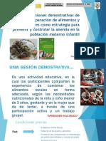 Sesiones Demostrativas_Cusco Avances