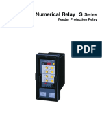 Numerical Relay S Series Feeder Protection Relay