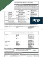 Matriz de Riesgo - Encofrado y Concreto