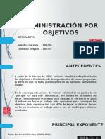 Administración Por Objetivos (1)