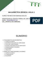 Aula 1 - Informática