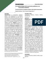 Característica Clínico-epidemiológica de los pacientes pediátricos con Cetoacidosis DiabéticaSM