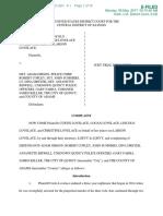 Lovelace Civil Lawsuit