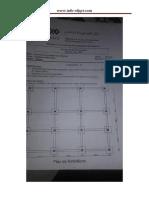 Examen de Fin de Formation Gros Oeuvre Tsgo 2015 Pratique Variante 22