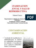 Contaminacion Ambiental y Salud Reproductiva